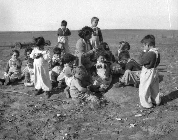ילדים בשנות החמישים